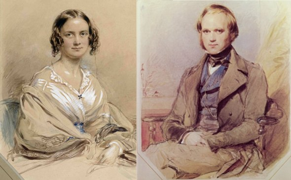http://www.chicagoontheaisle.com/wp-content/uploads/2013/09/Watercolors-of-Emma-Darwin-and-Charles-Darwin-1840-by-George-Richmond.jpg