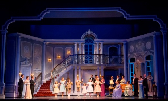 Michael Yeargen set design for 'The Sound of Music' at Lyric Opera Chicago 2014 (Todd Rosenberg)