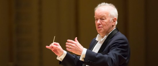 Edo De Waart led the Chicago Symphony Orchestra in works by Brahms and Mozart. (Todd Rosenberg)